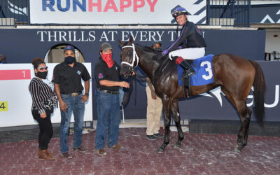 Yafa wins by as much as she wants at Gulfstream Park!
